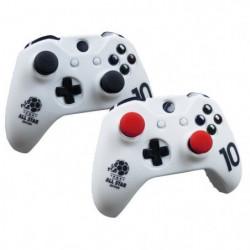 Housse de protection Blanche en silicone pour manette Xbox O