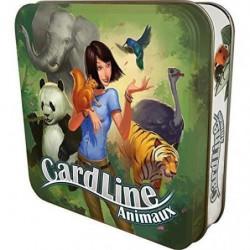ASMODEE - Cardline Animaux - Jeu de société