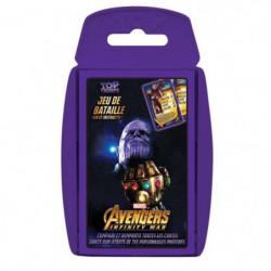 TOP TRUMPS Avengers Infinity War - Jeu de cartes - Version f