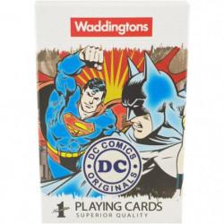 WADDINGTONS N°1 - Dc Comics - Jeu de 54 cartes