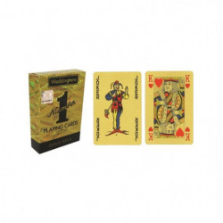 WADDINGTONS N°1 - Or - Jeu de 54 cartes