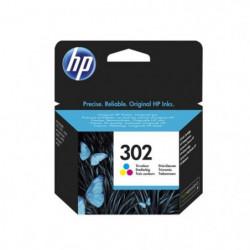 HP 302 Cartouche d'encre Trois couleurs (Cyan, Magenta, Jaun
