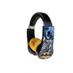 BATMAN Casque audio Kidsafe