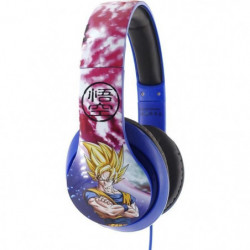DRAGON BALL Z Casque audio Goku et Vegeta Space - Bleu