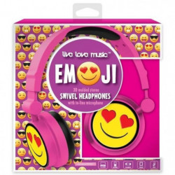 DGL TOYS casque audio enfant audio Emoticon Coeur