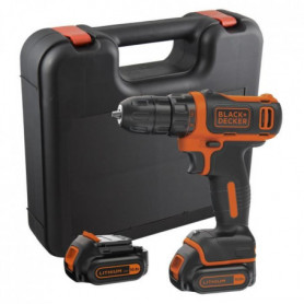 BLACK & DECKER Visseuse sans fil avec 2 batteries