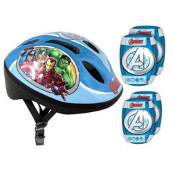 AVENGERS Pack Protections - Casque - Genouilleres - Coudiere