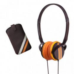BBC PACKCAPSRACO Pack musique Capsule Racing - Noi et orange