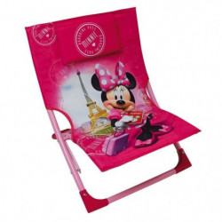 Fun House Disney Minnie chaise de plage pour enfant