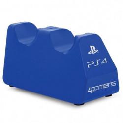 Station de chargement double pour PS4 - Bleu