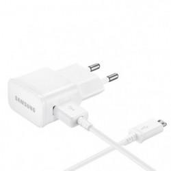 Samsung Chargeur secteur Micro USB  Blanc