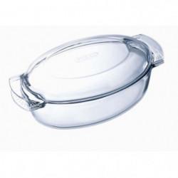 PYREX - 460A000/7143 - Cocotte ovale - 38cm * 23cm - Pyrex C