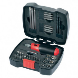 BLACK & DECKER Coffret de vissage 43 pieces A7175