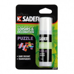 SADER Flacon Colle Puzzle - 75ml - Transparente