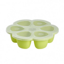 Béaba Multiportions silicone 6x90 ml neon