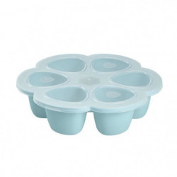 BEABA Multiportions silicone 6x90 ml blue