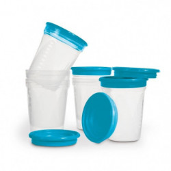 NUK Set de 6 Pots de Conservation - 200 ml