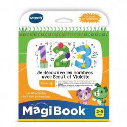 VTECH - Livre Interactif Magibook - Je Découvre Les Nombres