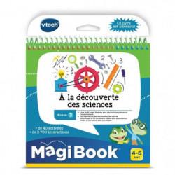 VTECH - Livre Interactif Magibook - A La Découverte Des Scie