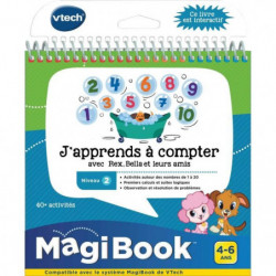 VTECH - Livre Interactif Magibook - J'Apprends a Compter Ave