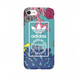 ADIDAS Coque Originals TPU Coral graphicColoré - IPhone 7 -