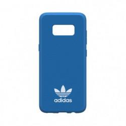 ADIDAS Coque Moulded en daim - Galaxy S8 - Bleu oiseau