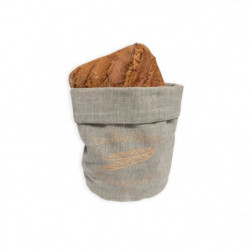 SOLEIL D'OCRE Corbeille petit déjeuner Baguette - Ø20x13 cm