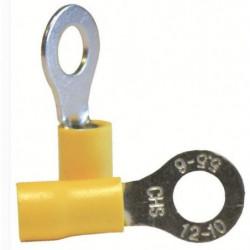 VOLTMAN Boîte de 10 cosses rondes - Section 6 mm pour fils d
