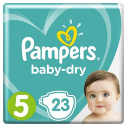 Pampers Baby-Dry Taille 5 11-23 kg - 23 Couches