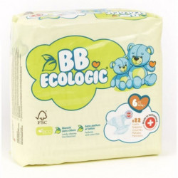 BEBE ECOLOGIC - Couches  taille 6 - 22 couches