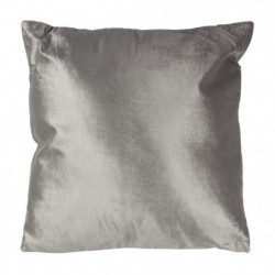 Coussin bicolo - 38 x 38 cm - Gris taupe