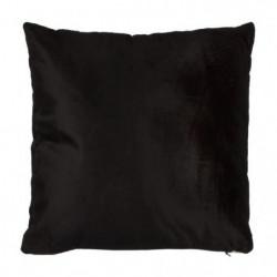 Coussin bicolo - 38 x 38 cm - Noir