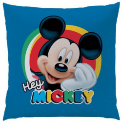Coussin 100% polyester MICKEY STORY 40x40cm