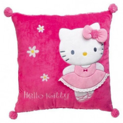 Fun House Hello Kitty coussin carre 35 x 35 cm pour enfant