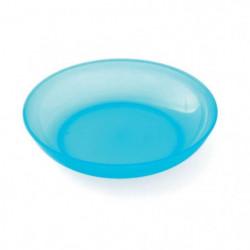 PLASTOREX Assiette micro-ondable Polypropylene 18,5 CM Bleu 51487