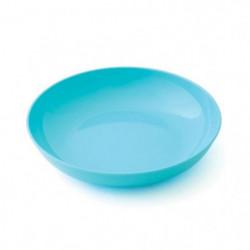 PLASTOREX Assiette micro-ondable Polypropylene 18,5 CM Bleu 51488