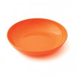 PLASTOREX Assiette Micro-Ondable Polypropylene 18,5 cm Orang 51492
