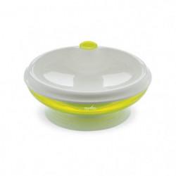 NUVITA Assiette bébé thermique avec ventouse - Vert