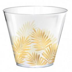 AMSCAN Lot de 30 Gobelets Key West en plastique 266 ml