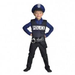 CESAR - F586 - Déguisement policier - 5 / 7 ans