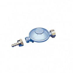 DIPRA Détendeur butane NF + raccord tétine 1.3kg/h - 28mbar