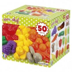 ECOIFFIER CHEF Pack 50 Fruits et Légumes
