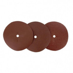 Assortiment de 6 disques - Ø 125 mm - Grain 40 / 80 / 120