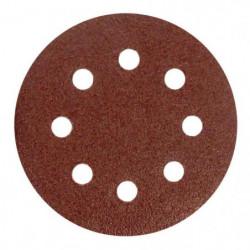 Lot de 6 disques abrasifs pour décaper - Ø 115 mm - Gros gra