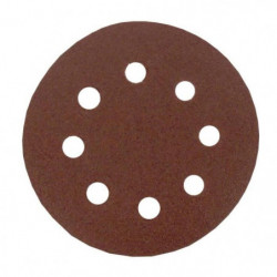 Lot de 6 disques abrasifs pour poncer - Ø 115 mm - Gros moye