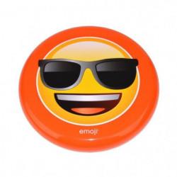 EMOJI Disque volant frisbee Lunette de Soleil - 23cm - Jaune