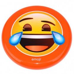 EMOJI Disque volant frisbee Rieur - 23cm - Jaune et Orange