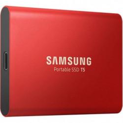 SAMSUNG SSD Externe T5 rouge 500 Go MU-PA500R/EU