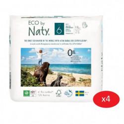NATY - Lot de 4 paquets de Culottes d'apprentissage Taille 6
