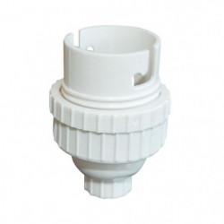 TIBELEC Douille B22 - Plastique